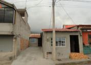 Vendo terreno de 236 m2 con mediaguas en otavalo
