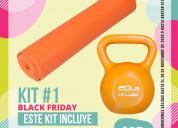 Kit deportivo yoga / gimnasio