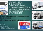Servicio de diario de transporte quito-guayaquil-cuenca