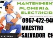 Plomero quiteÑo en esmeraldas 0967472940