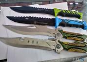 Cuchillos tácticos y de cacería navajas