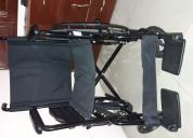 Vendo una silla de ruedas,  poco uso