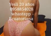Linda ecuatoriana pocos dÍas te esperamos