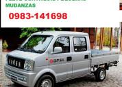 Flete camioneta guayaquil pequeÑas mudanzas 098314