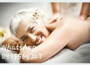 Doy masajes a domicilio 0995564727