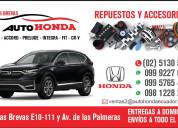 Honda repuestos las brevas