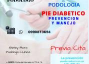 Podologia pie diabético