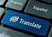 Traducciones ingles español, contactarse