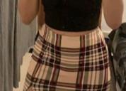 Se vende hermoso conjunto nuevo falda y top