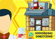 Representa técnico de farmacia