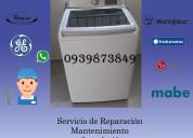 Reparacion de lavadoras y secadoras a domicilio