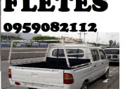Camioneta para flete  mudanzas pequeÑas   guayaqui