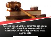 Servicio legal asesoría jurídica
