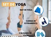 Kit de yoga para entrenamiento en casa