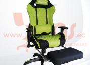 Sillas gamer guayaquil meetion verde