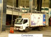 Camiones para fletes o mudanzas guayaquil montero