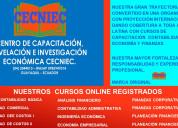 Ecuador: cursos online  efectivos para  el 2021