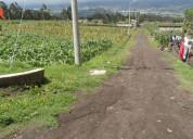 Venta de terreno en cerotal cantón antonio ante