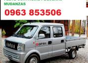 Flete camioneta guayaquil pequeÑas mudanzas 096385