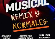Packs musicales- remix y normales para djs