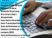 Asesoria contable-tributaria- declaraciones