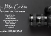 Fotografía / fotógrafo / fotos en eventos sociales