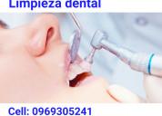 Limpieza dental $7