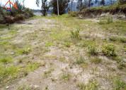 Venta de terreno en otavalo sector azama