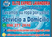 Lavanderia servicio agua y seco quito 0962772616