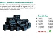 Baterias para ups desde 12v 5amp