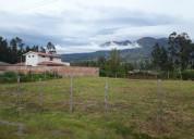 Vendo terreno en san miguel - cotacachi