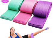 Bandas de resistencia para piernas y glúteos, kit