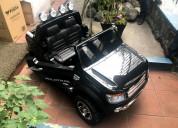 Carro a batería 2 a 8 años licencia ford 2 niños