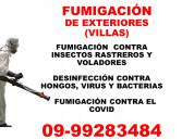 Fumigacion contra el covid (guayaquil)