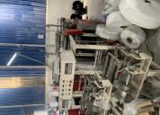 Liquidamos maquinas para fabricacion de fundas