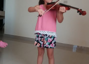 Clases de violin y guitarra en manta a domicilio