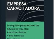 Empresa capacitadora / servicios