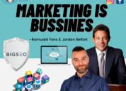 Marketing is bussines romualdfons y jordan belfort