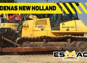 Cadenas nuevas para bulldozer new holland d150