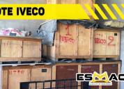 Remato lote de repuestos iveco para camión,volquet