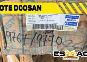 Lote de repuesto marca doosan y daewoo para excava