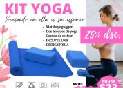 Yoga/ gym bloques de entramiento / mat / cuerda de