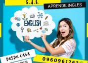 Aprende ingles clases presenciales o virtuales