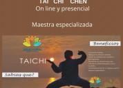 Cursos de tai chi terapéutico. online y presencial