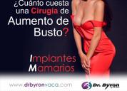 Dr. byron vaca::: aumento de senos quito