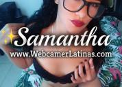 Linda colombiana para show virtual