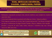 Praxis ec: direccionamos tesis y ensayos