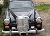 Mercedes benz 180 1958 en quito