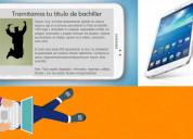 Tablet bachiller especial para estudiante