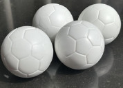 Pelotas de futbolin color blanco al por mayor